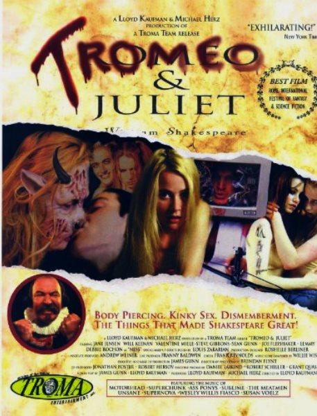 Tromeo & Juliet (1996) poster
