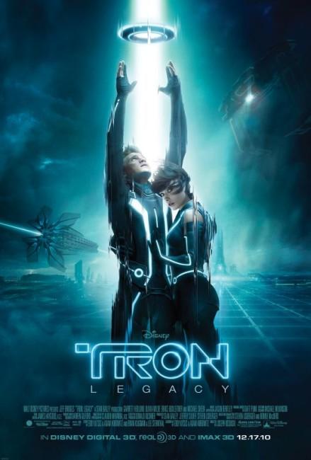 Tron Legacy (2010) poster