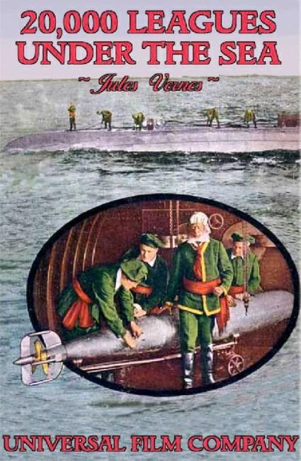 Twenty Thousand Leagues Under the Sea (1916) poster
