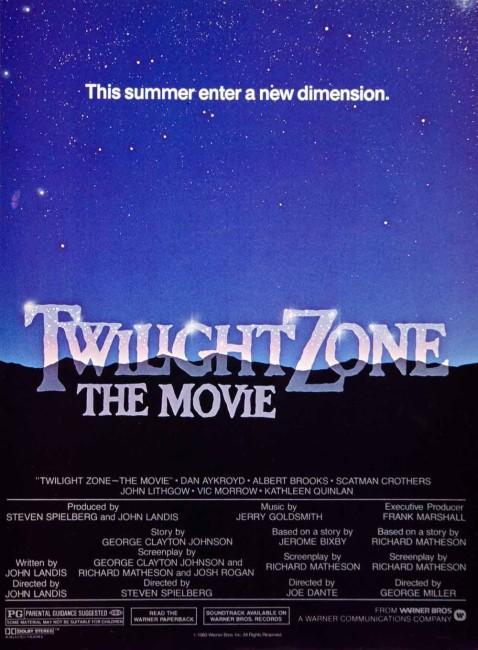 Twilight Zone: The Movie (1983) poster