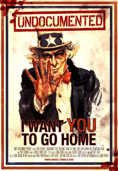 Undocumented (2010) poster