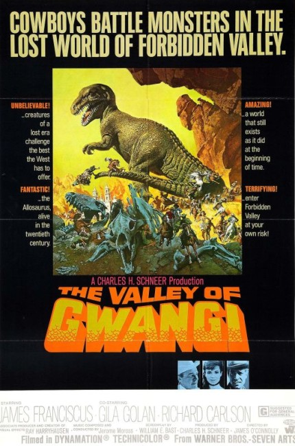 The Valley of Gwangi (1969) poster 2