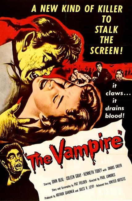 The Vampire (1957) poster