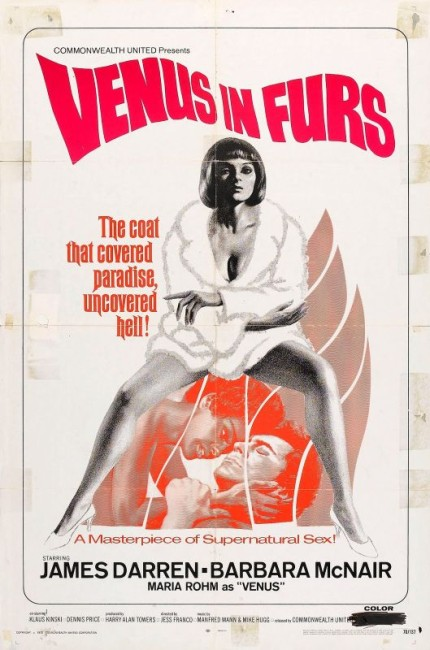 Venus in Furs (1969) poster
