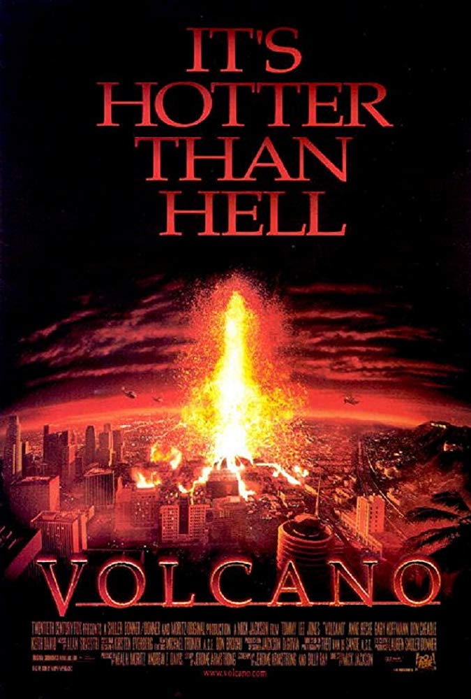 Volcano (1997) poster