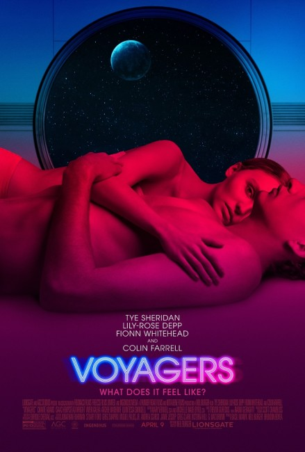 Voyagers (2021) poster