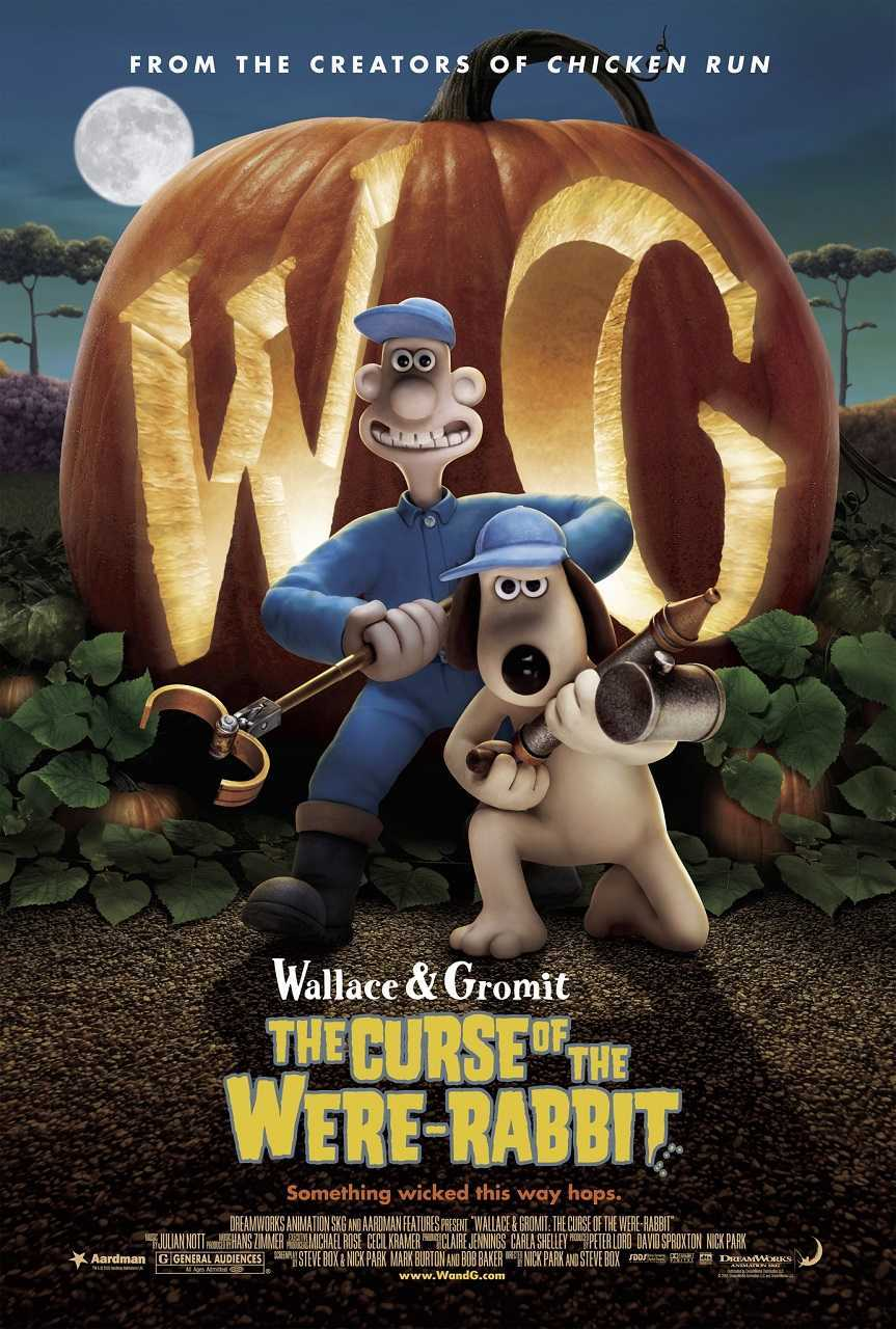 Wallace and Gromit in the Curse of the Were-Rabbit (2005) poster