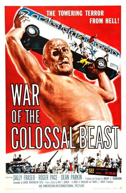 War of the Colossal Beast (1958) poster