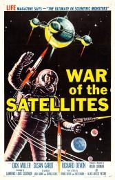 War of the Satellites (1958) poster