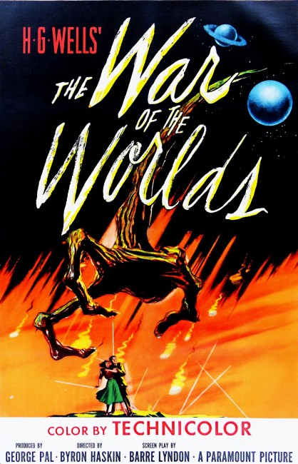 The War of the Worlds (1953) poster