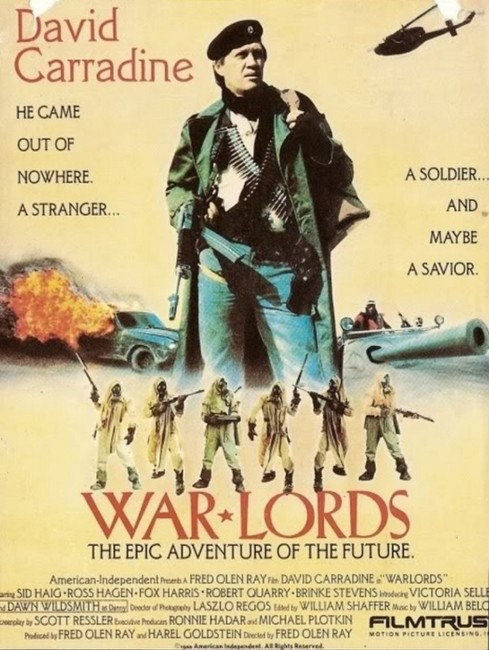 Warlords (1989) poster