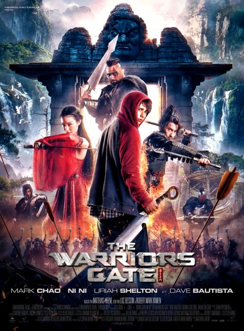 The Warrior's Gate (2016) poster