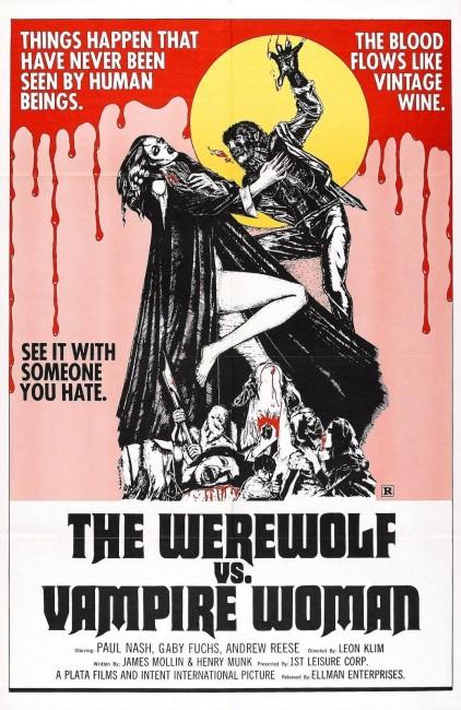 The Werewolf vs the Vampire Woman (1971) poster