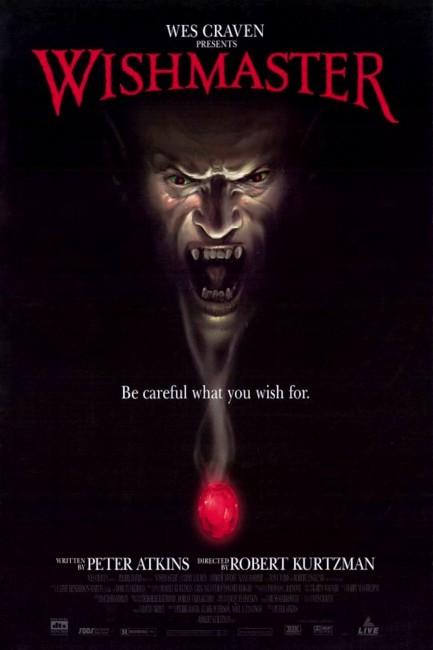 Wishmaster (1997) poster