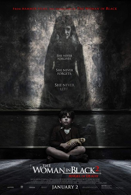 The Woman in Black: Angel of Death (2014) poster