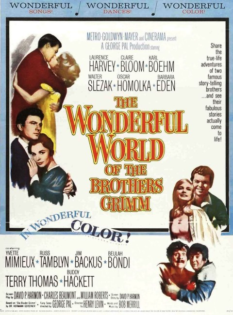 The Wonderful World of the Brothers Grimm (1962) poster