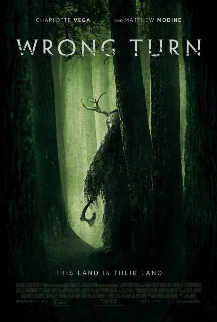 Wrong Turn (2021) poster