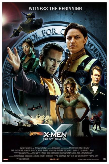 X: First Class (2011) poster