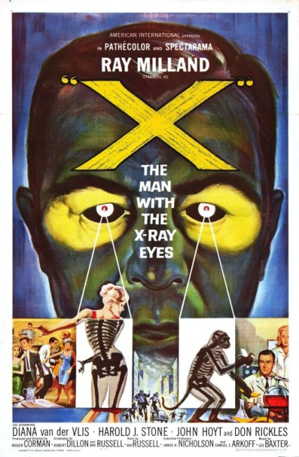 X - The Man with X-Ray Eyes (1963) poster