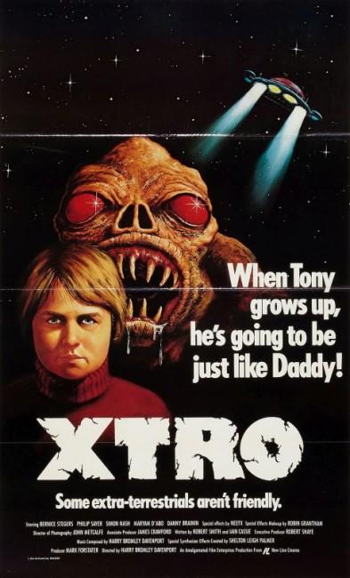 Xtro (1982) poster