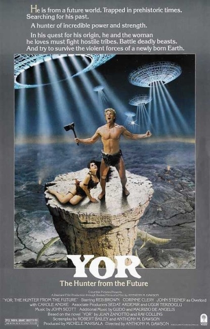 Yor, The Hunter from the Future (1983) poster