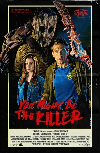 You Might Be the Killer (2018) poster