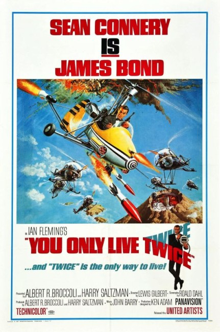 You Only Live Twice (1967) poster
