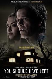 You Should Have Left (2020) poster