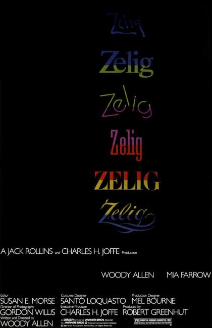 Zelig (1983) poster