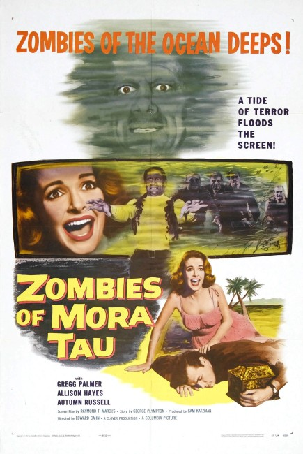 Zombies of Mora Tau (1957) poster