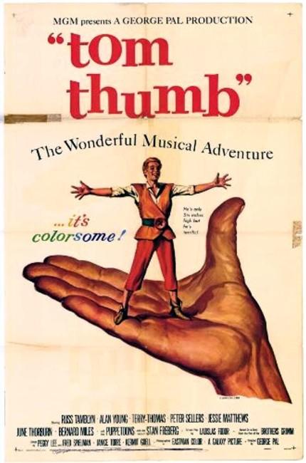 tom thumb (1958) poster